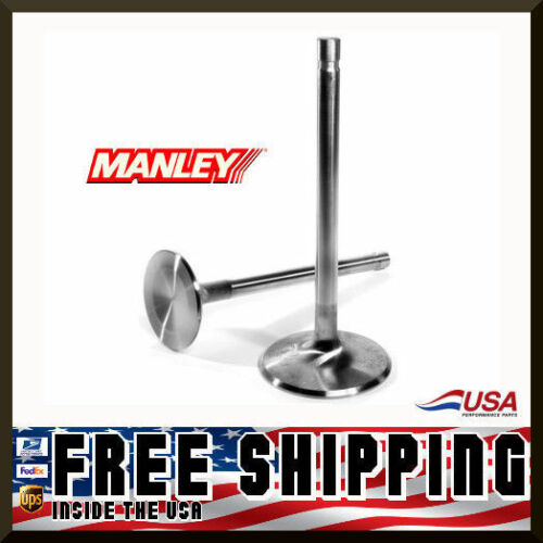 Manley SBC Chevy 1.500 Stainless Race Flo Exhaust Valves 4.911 x .3415 11521-8