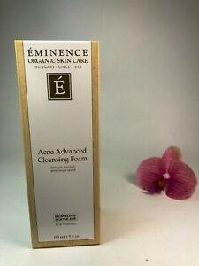 Eminence Acne Advanced Cleansing Foam 150ml 5oz Brand New