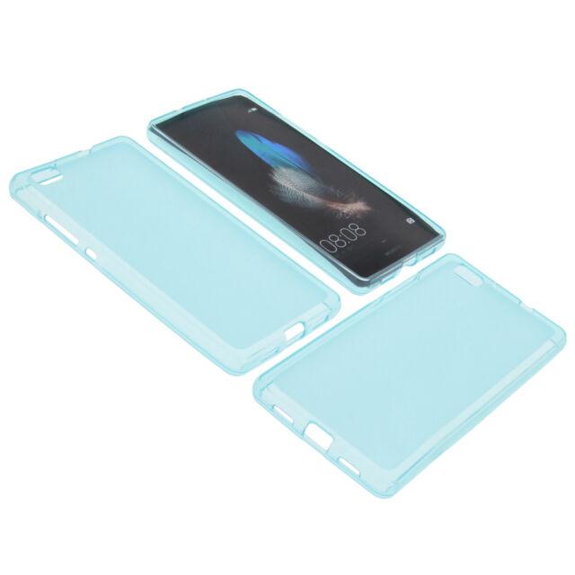 Tasche für Huawei P8 Lite Smartphone Schutzhülle TPU Gummi Handy Bumper