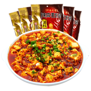Chinese-Condiment-of-Sichuan-Flavors-Spicy-MaPo-Tofu-Seasoning-Sauce-100g