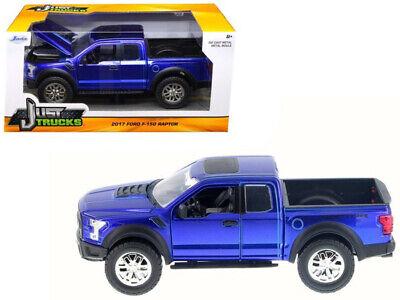 2017 ford f-150 Raptor pickup azul Blue 1:24 jada Toys 98583