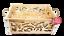 miniature 2 - Strenna di Natale GOLD BOX 1 - Cesto Natalizio Gastronomico salumi formaggi