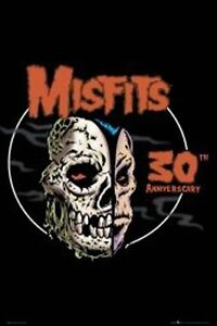 THE-MISFITS-POSTER-30TH-Anniverscary-NEW-OFFICIAL-MERCHANDISE-Danzig-Fiend-Skull