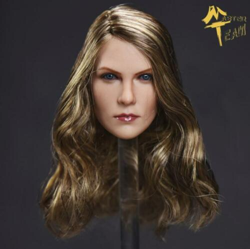 """1//6 Charlize Theron American Female Head Sculpt For 12/"""" PHICEN TBLeague Figure"""