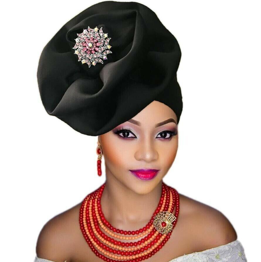 Elegant roses turban,cap,headwrap,auto gele various colors and designs.