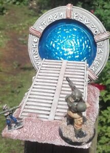 New  sci-fi  stargate time travel GALACTIC PORTAL event horizon 15mm -28mm scale