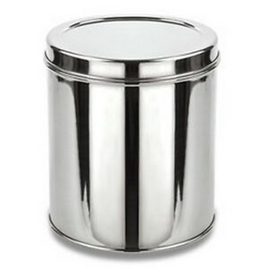 Stainless Steel Storage Box For Grain Flour Kitchen Dabba Canister