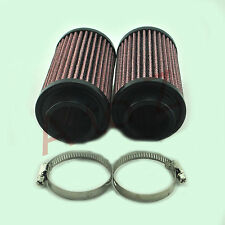 Fits Yamaha Banshee YFZ 350 K&N Style Air Pod Filters Pair Stock Carbs 26mm KN