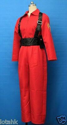 Details about  /Team fortress 2 Red Pyro Cosplay Costume Custom Made