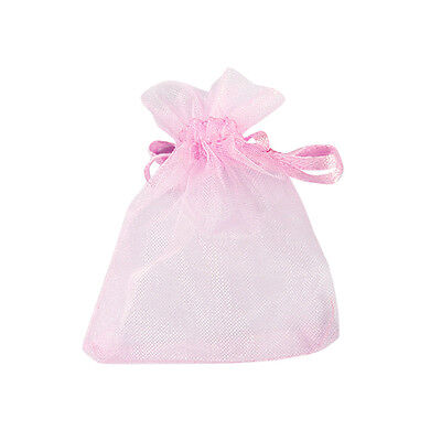 """50 pcs New Organza Jewelry Wedding Favor Gift Pouch Bags 7*9cm 2.7*3.5"""""""