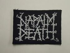 NAPALM DEATH WOVEN PATCH