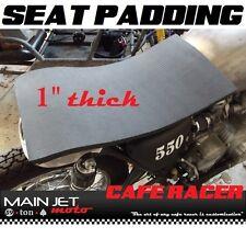 Cafe Racer motorcycle seat pad foam cushion Honda gt750 gt200 gt500 gt350 gt250