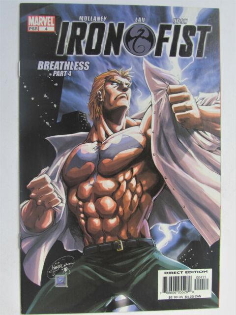 # 4 2004 IRON FIST COMIC - c/sh