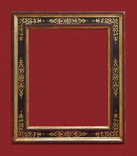 Rahmen -  Holz,  polychrome Fassung ,  Italien 19. Jahrhundert    (# 5856)