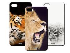 IPM CUSTODIA COVER CASE ANIMALI LEONE LEOPARDO TIGRE PER iPHONE 4 S 4S