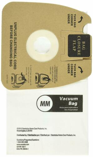 Genuine Eureka Sanitaire MM 3670 Bags Vac Mighty Mite 60295C-6 Single Loose Bag