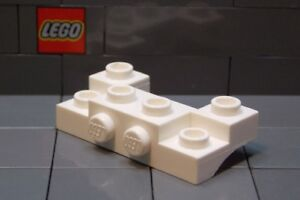 Modified 2 x 4-1 x 4 w Recessed Studs 52038 WHITE LEGO Parts~ 2 Brick