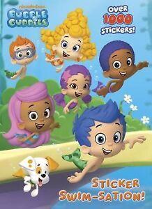 Color Plus 1000 Stickers Sticker Swim Sation Bubble Guppies By
