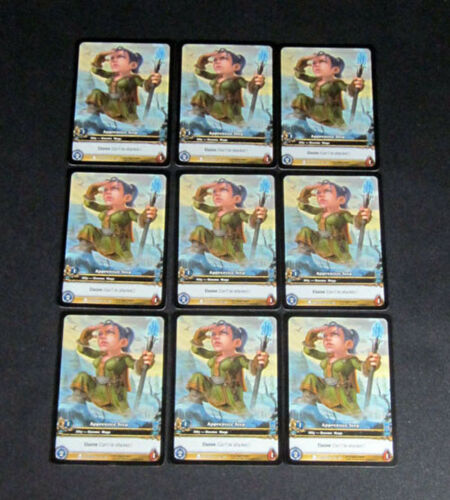 9 World of Warcraft WoW TCG Apprentice Teep Azeroth Promo Extended Art Common
