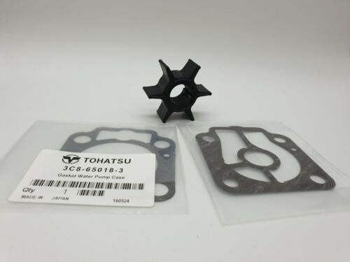 WATER PUMP IMPELLER KIT TOHATSU OUTBOARD 40 50 HP 2STR M40//50D//D2  3C8-65021-2