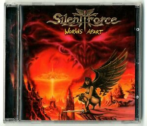 CD-SILENT-FORCE-WORLDS-APART-12-TRACKS-ALBUM-ANNEE-2004