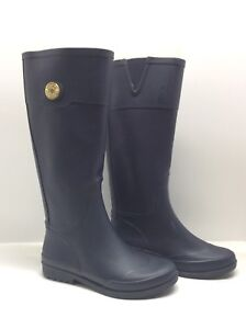07ead9bcab0b8b Image is loading Tommy-Hilfiger-034-Calipso-034-Rubber-Rain-Boots-