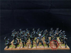 1-56-28mm-Napoleonic-Wars-DPS-painted-Austrian-Jager-GH2493