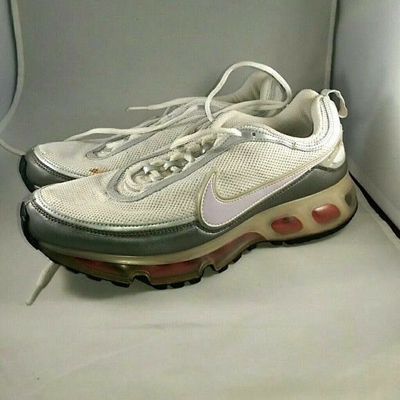 Nike Air Max 360 White Silver Pink - Size 10 - 315420-162