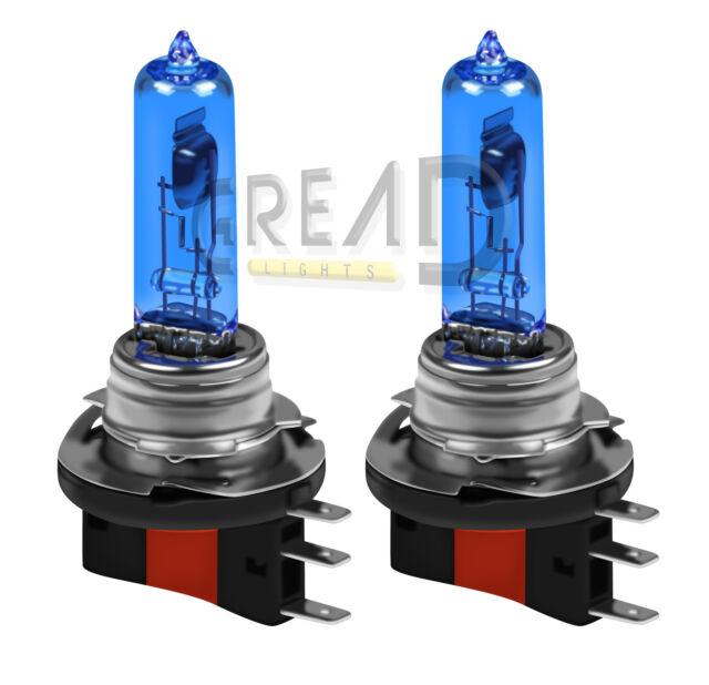 H15 SUPERWHITE TAGFAHRLICHT XENON LOOK OPTIK HALOGEN LAMPEN 55W