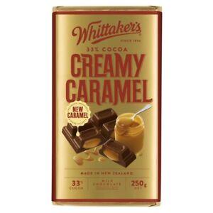 Whittaker's Creamy Caramel Milk Chocolate 250g