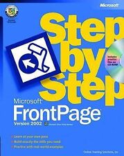 Microsoft® FrontPage® Version 2002 Step by Step by Online Training Solutions In