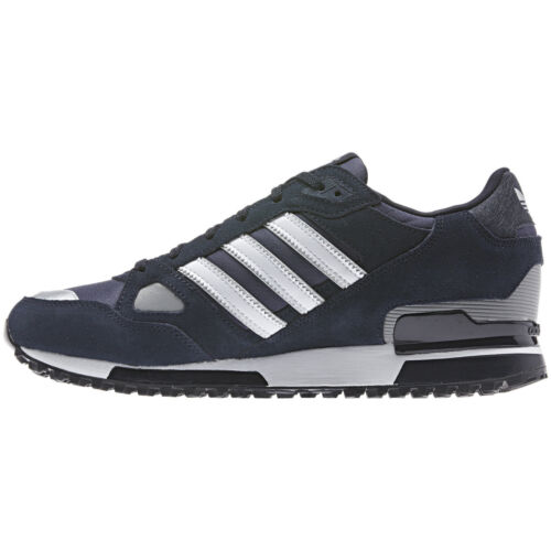 adidas ORIGINALS MENS ZX 750 UK SIZE 7-11 BLUE RUNNING TRAINERS SHOES NEW