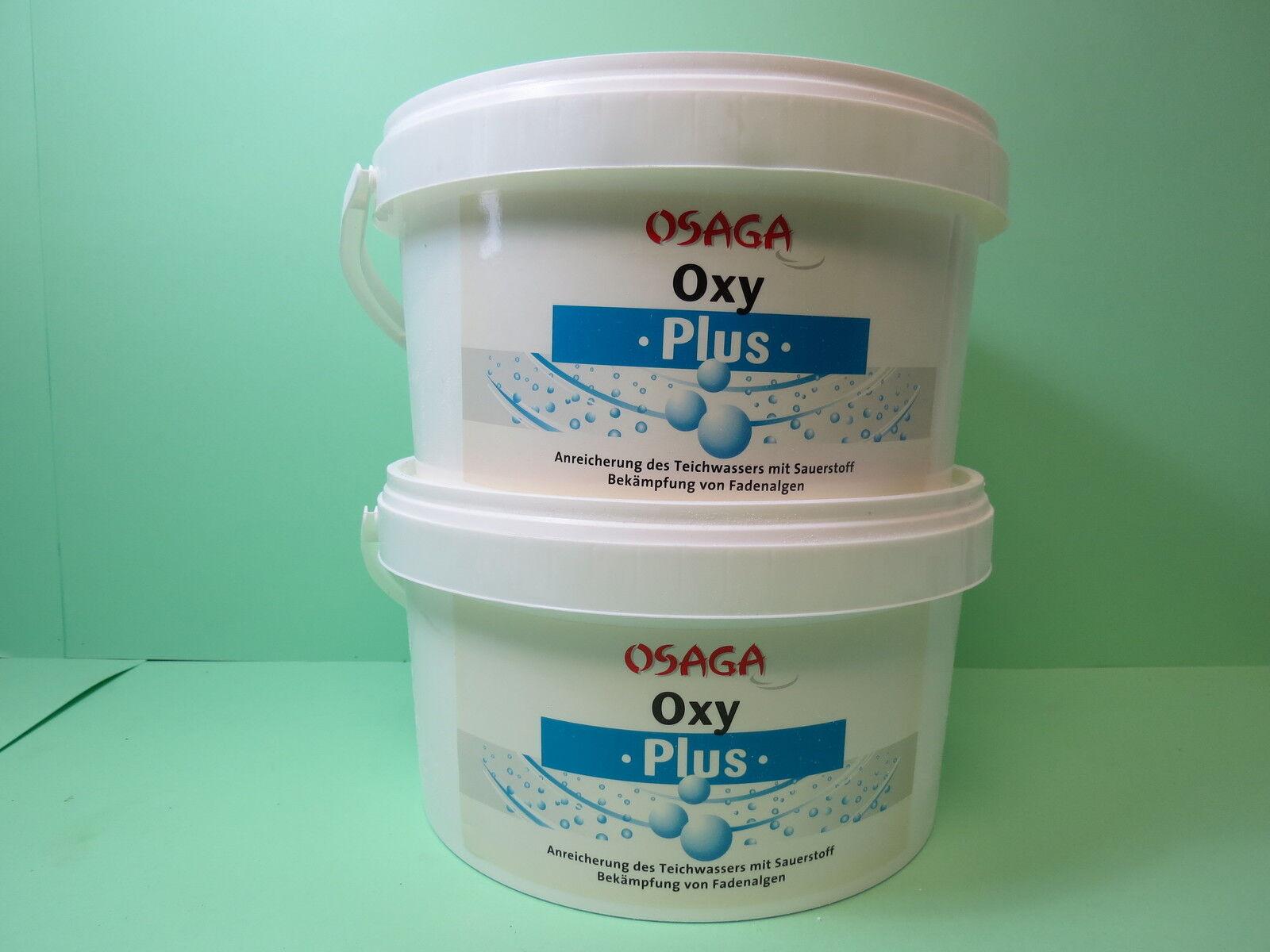 OSAGA Oxy Plus 6000 gramm  Aktiv-Sauerstoff Koi-Teich Algen   OS10716