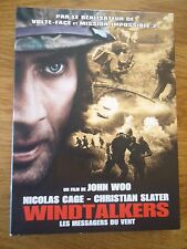 Collector 2 DVD *  WINDTALKERS MESSAGERS DU VENT NICOLAS CAGE SLATER WOO GUERRE