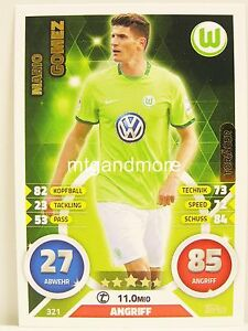 Torjäger Match Attax 2016/17 Bundesliga #197 Anthony Modeste