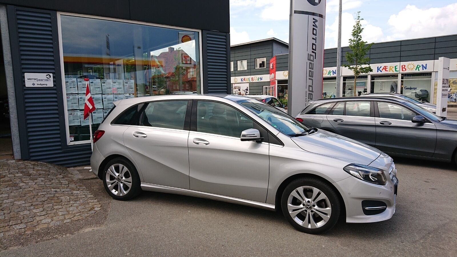 Mercedes B200 d 2,2 Business aut. 5d - 304.900 kr.