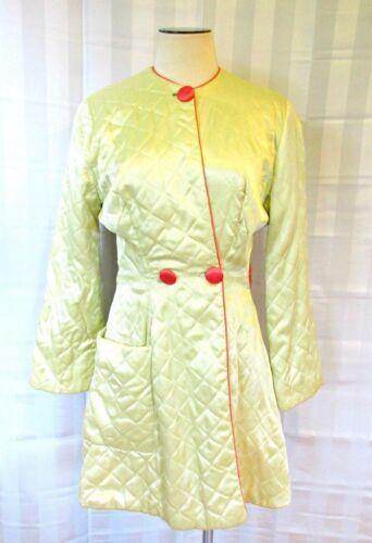 Vintage Dressing Robe 1930s 1940s Textron Short Ba