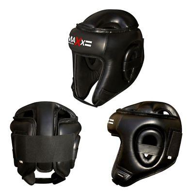 Maxx Boxing Head Guard Helmet Protector Kick Martial Art Protective Gear Adults