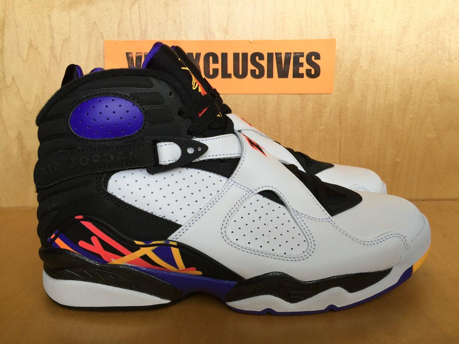 Nike Air Jordan Retro 8 Three-Peat Three 3 Peat Nothing But Net 305381-142