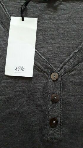 Gr One Size grau NEU Etikett M // L Pink Cherry Shirt Feinstrick-Optik
