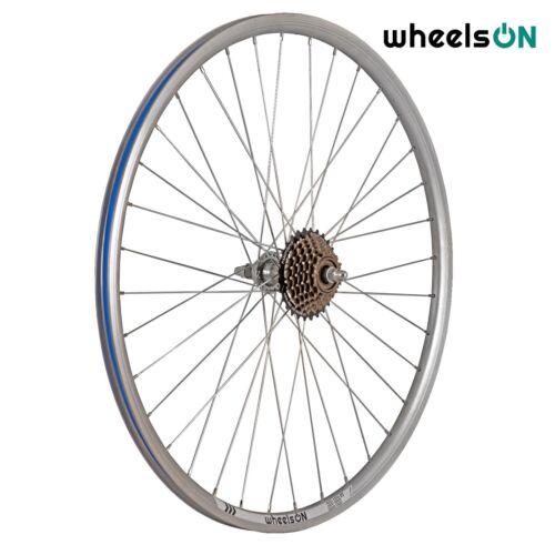 700c wheelsON Rear Wheel Hybrid//MTB 6//7 Speed Shimano Freewheel Silver 36H