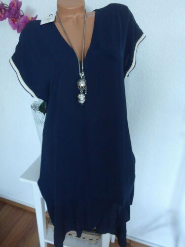534 PEPE Jeans Kleid Chiffonklei Gr S bis XL 34-42 blau weich fallend