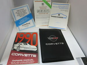 2002 Chevy Corvette Owners Manual New Original Owner Guide NOS OEM Chevrolet