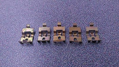 LOT OF 5 USED GENUINE PORSCHE 911 912E 930 914 914-6 AIR BOX CABLE CLAMP CLIPS