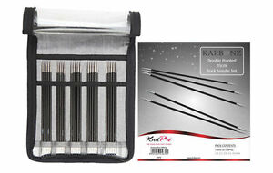 KnitPro-Karbonz-stricknadel-set-15cm-41614-Carbon-Calcetines-de-punto-Set