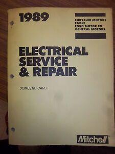 1989 ford gm electrical service manual wiring diagram. Black Bedroom Furniture Sets. Home Design Ideas