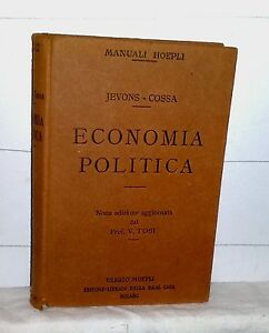 Jevons-Cossa-ECONOMIA-POLITICA-Hoepli-1926