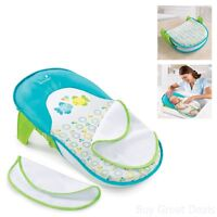 Infant Bath Sling Baby Bath Tub Home Bathroom Bathing Seat Blue Green Boys