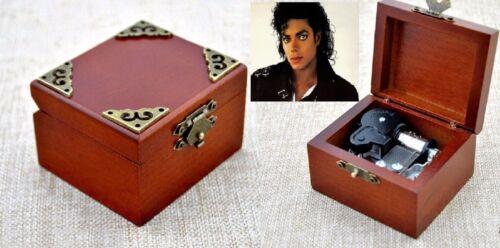 Thriller ♫  SQUARE WOODEN MUSIC BOX ♫  Michael Jackson