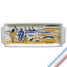 Collection BLEU SALE - Plat Cake - 38 x 15 cm -  Lot de 1